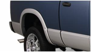 Exterior Accessories - Fender Trim - Bushwacker - Bushwacker Fender Flares, Dodge (2006-08) 1500 (2006-09) 2500/3500 Rear Pair Only (Street Flare)