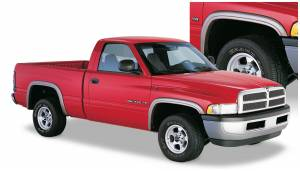 Exterior Accessories - Fender Trim - Bushwacker - Bushwacker Fender Flares, Dodge (1994-01) 1500 (1994-02) 2500/3500 Set of 4 (Street Flare)