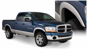 Exterior Accessories - Fender Trim - Bushwacker - Bushwacker Fender Flares, Dodge (2006-08) 1500 (2006-09) 2500/3500 Set of 4 (Street Flare)