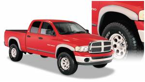 Exterior Accessories - Fender Trim - Bushwacker - Bushwacker Fender Flares, Dodge (2002-05) 1500 (2003-05) 2500/3500 Set of 4(OE Style)