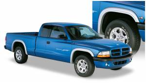 Exterior Accessories - Fender Trim - Bushwacker - Bushwacker Fender Flares, Dodge (1997-04) Dakota Set of 4 (Street Flare)