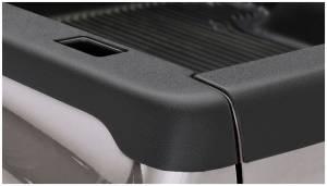 Bed Accessories - Bed Rail/Tailgate Caps - Bushwacker - Bushwacker Ultimate Bed Rail Cap Dodge (2002-08) 1500 (2003-09) 2500/3500 Smoothback OE Matte Black