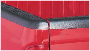 Bed Accessories - Bed Rail/Tailgate Caps - Bushwacker - Bushwacker Ultimate Bed Rail Cap Dodge (2000-04) Dakota Diamondback OE Matte Black