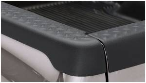 Bed Accessories - Bed Rail/Tailgate Caps - Bushwacker - Bushwacker Ultimate Bed Rail Cap Dodge (2002-08) 1500 (2003-09) 2500/3500 Diamondback OE Matte Black