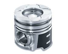 Engine Parts - Pistons and Rings - Mahle - Mahle Clevite Piston set, (1988-98) Dodge 5.9L Cummins Performance cast w/ No Pockets  0.040 over