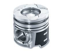 """Engine Parts - Pistons and Rings - Mahle - Mahle Clevite Piston set, (2003-04) Dodge 5.9L Cummins w/ 0.075"""" Pockets standard size"""