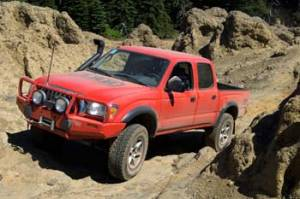 ARB - ARB Deluxe Bull Bar Winch Mount Bumper, Toyota (1995-04) Tacoma