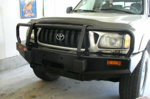 ARB - ARB Deluxe Bull Bar Winch Mount Bumper, Toyota (1995-04) Tacoma - Image 4