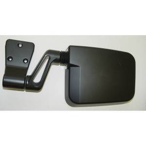 Exterior Accessories - Mirrors - Rugged Ridge - Rugged Ridge Door Mirror, Black, Left Side (1987-02) Jeep Wrangler