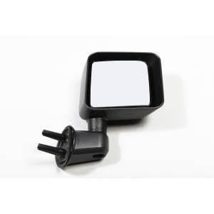 Rugged Ridge Door Mirror, Black, Right Side (2007-15) Jeep Wrangler JK