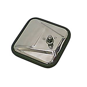 Exterior Accessories - Mirrors - Rugged Ridge - Rugged Ridge CJ-Style Mirror Head, Stainless Steel, Right (1955-86) Jeep CJ