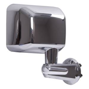 Exterior Accessories - Mirrors - Rugged Ridge - Rugged Ridge Door Mirror, Chrome, Right (2007-15) Jeep Wrangler JK