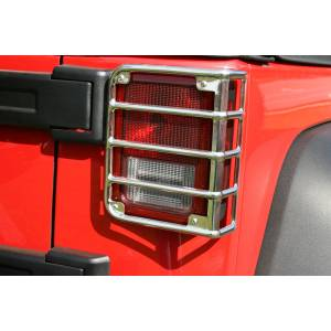 Exterior Accessories - Armor & Protection - Rugged Ridge - Rugged Ridge Tail Light Euro Guards (2007-15) Jeep Wrangler JK