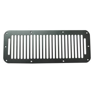 Jeep Tops & Doors - Jeep Body Parts/ Accessories - Rugged Ridge - Rugged Ridge Cowl Vent Cover, Black (1976-95) Jeep CJ/Wrangler YJ