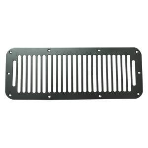 Jeep Body Parts/ Accessories - Rugged Ridge - Rugged Ridge Cowl Vent Cover, Black (1976-95) Jeep CJ/Wrangler YJ