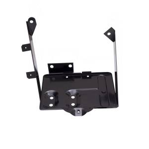 Jeep Body Parts/ Accessories - Rugged Ridge - Rugged Ridge Battery Tray Kit (1976-86) Jeep CJ Models