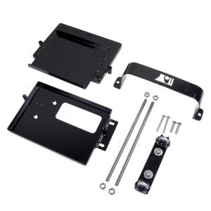 Engine Parts - Engine Dress Up - Rugged Ridge - Rugged Ridge Dual Battery Tray (1997-06) Jeep Wrangler TJ