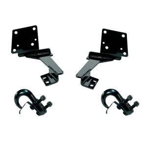 Towing & Recovery - Shackle & D-Rings - Rugged Ridge - Rugged Ridge Tow Hooks, Front (1993-98) Grand Cherokee ZJ pair