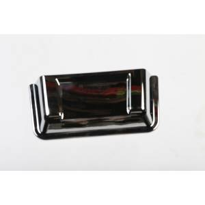 Jeep Body Parts/ Accessories - Rugged Ridge - Rugged Ridge Cowl Scoop, Chrome (1998-15) Jeep Wrangler TJ/JK