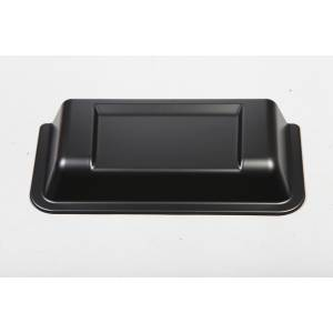 Jeep Body Parts/ Accessories - Rugged Ridge - Rugged Ridge Cowl Vent Scoop, Black (1998-15) Jeep Wrangler TJ/JK