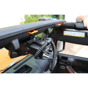 Electronic Accessories - Electronic Accessories Mounts - Rugged Ridge - Rugged Ridge CB Radio Mount (2007-15) Jeep Wrangler JK