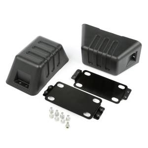 Exterior Accessories - Armor & Protection - Rugged Ridge - Rugged Ridge XHD Bumper Tow Point Cover (2007-15) Jeep Wrangler JK