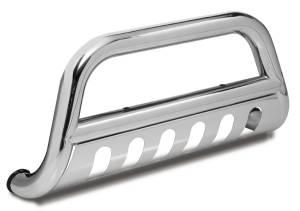 Exterior Accessories - Bull Bars - Rugged Ridge - Rugged Ridge Bull Bar, 3 Inch, Stainless Steel (2010-15) Wrangler JK