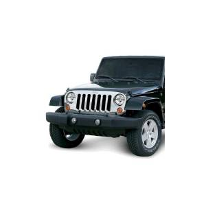 Omix-ADA - Chrome Grille Overlay; 07-15 Jeep Wrangler JK
