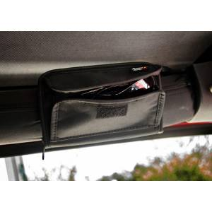 Interior Accessories - Interior Dress Up  - Rugged Ridge - Rugged Ridge Sunglass Holder, Storage Pouch (1955-15) Jeep CJ/Wrangler YJ/TJ/JK