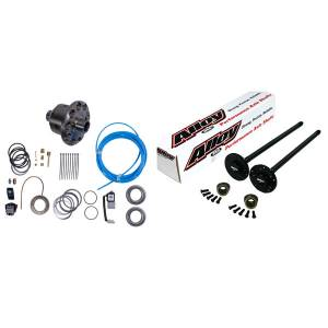 Axles & Axle Parts - Axle Kit - Front - Alloy USA - Alloy USA Axle Shaft Kit and ARB Air Locker (1972-83) Jeep CJ, Grande 30 Front