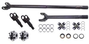 Axles & Axle Parts - Axle Kit - Front - Alloy USA - Alloy USA Axle Shaft Kit (1992-06) Jeep Cherokee XJ Wrangler TJ, Grande 30 Front