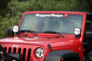 Rugged Ridge Windshield Banner 30X3