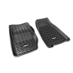Interior Accessories - Floor Liners/Mats - Rugged Ridge - Rugged Ridge Floor Liners, Front, Black (1984-01) Jeep Cherokee XJ