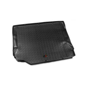 Interior Accessories - Floor Liners/Mats - Rugged Ridge - Rugged Ridge Cargo Liner, Black (2007-10) Jeep Wrangler/Unlimited JK