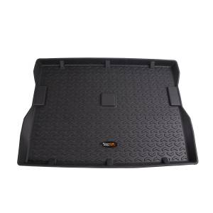 Interior Accessories - Floor Liners/Mats - Rugged Ridge - Rugged Ridge Cargo Liner, Black (1976-86) Jeep CJ7 (1987-95) Jeep Wrangler YJ