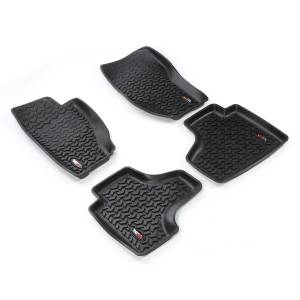 Rugged Ridge - Floor Liners, Kit, Black; 08-13 Jeep Liberty KK