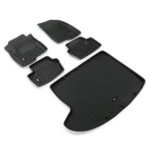 Rugged Ridge - Floor Liners, Kit, Black; 07-15 Compass/Patriot MK