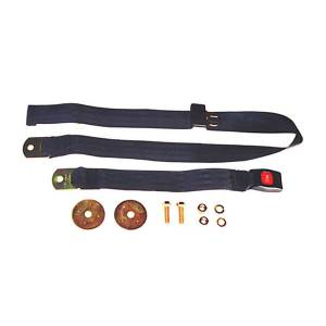 Interior Accessories - Seat Accessories - Omix-ADA - Omix-ADA 60 Inch Front/Rear Lap Seat Belt (1941-95) Jeep CJ/Wrangler YJ