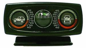Interior Accessories - Switches and Accessories  - Rugged Ridge - Rugged Ridge Clinometer with Compass; Universal