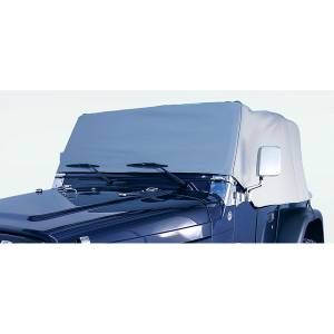 Vehicle Care Products - Rugged Ridge - Rugged Ridge Cab Cover, Gray (1976-86) Jeep CJ7