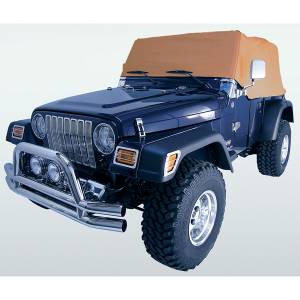 Vehicle Care Products - Rugged Ridge - Rugged Ridge Cab Cover, Spice (1992-06) Jeep Wrangler YJ/TJ