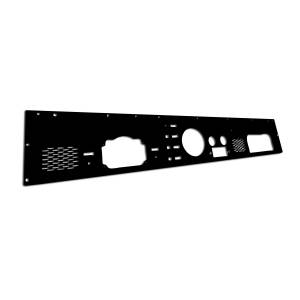 Interior Accessories - Interior Dress Up  - Rugged Ridge - Rugged Ridge Dash Panel, Pre-Cut Holes, Black (1976-86) Jeep CJ Models