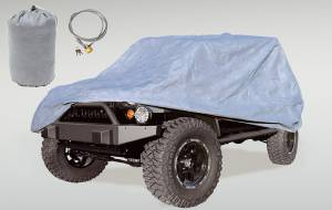 Vehicle Care Products - Rugged Ridge - Rugged Ridge Car Cover Kit (2007-15) Jeep Wrangler JK