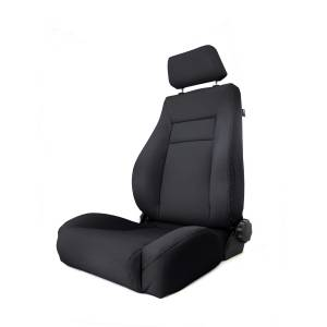 Interior Accessories - Seating - Rugged Ridge - Rugged Ridge Ultra Front Seat, Reclinable, Black Denim (1984-01) Jeep Cherokee XJ