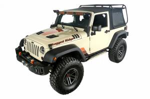 Jeep Tops & Doors - Jeep Tops - Rugged Ridge - Rugged Ridge Exo-Top (2007-15) Jeep Wrangler JK, 2-Door