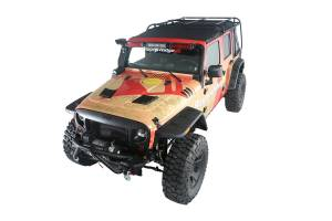 Jeep Tops & Doors - Jeep Tops - Rugged Ridge - Rugged Ridge Exo-Top (2007-15) Jeep Wrangler Unlimited JK, 4-Door