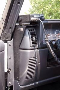 Rugged Ridge CB Radio Dash Mount (1997-06) Jeep Wrangler TJ/LJ