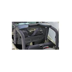 Interior Accessories - Seat Accessories - Rugged Ridge - Rugged Ridge Windbreaker, Gray (1980-06) Jeep CJ/Wrangler YJ/TJ