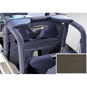 Interior Accessories - Seat Accessories - Rugged Ridge - Rugged Ridge Windbreaker, Khaki Diamond (1980-06) Jeep CJ/Wrangler YJ/TJ