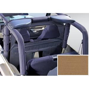 Interior Accessories - Seat Accessories - Rugged Ridge - Rugged Ridge Windbreaker, Spice (1980-06) Jeep CJ/Wrangler YJ/TJ